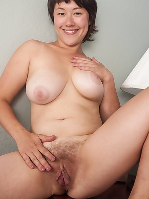 Sarah Rose is such a tease when she slowly takes off each individual clothing item. She looks innocent in her plain outfit but underneath is a sexy bra and matching panties. She shows her hairy pussy.