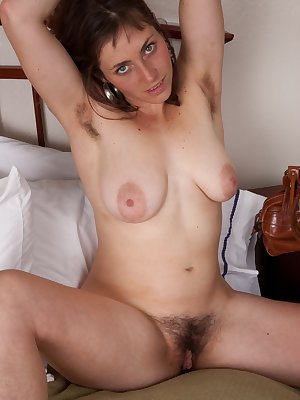 After getting the call that she is no longer needed at work for the day, hairy girl Tanya doesn't know what to do. To take her mind off of it she decides to give her hairy pussy a little love.