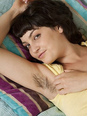 Hairy pussy, hairy ass, hairy armpits, hairy arms and even hairy legs! Angelina Dee is the perfect combination of natural beauty and sexy looks!