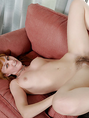 Amateur redhead Marie McCray gets her hairy beaver screwed hardcore