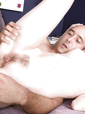 Dark haired amateur Alex Harper getting banged by massive cock