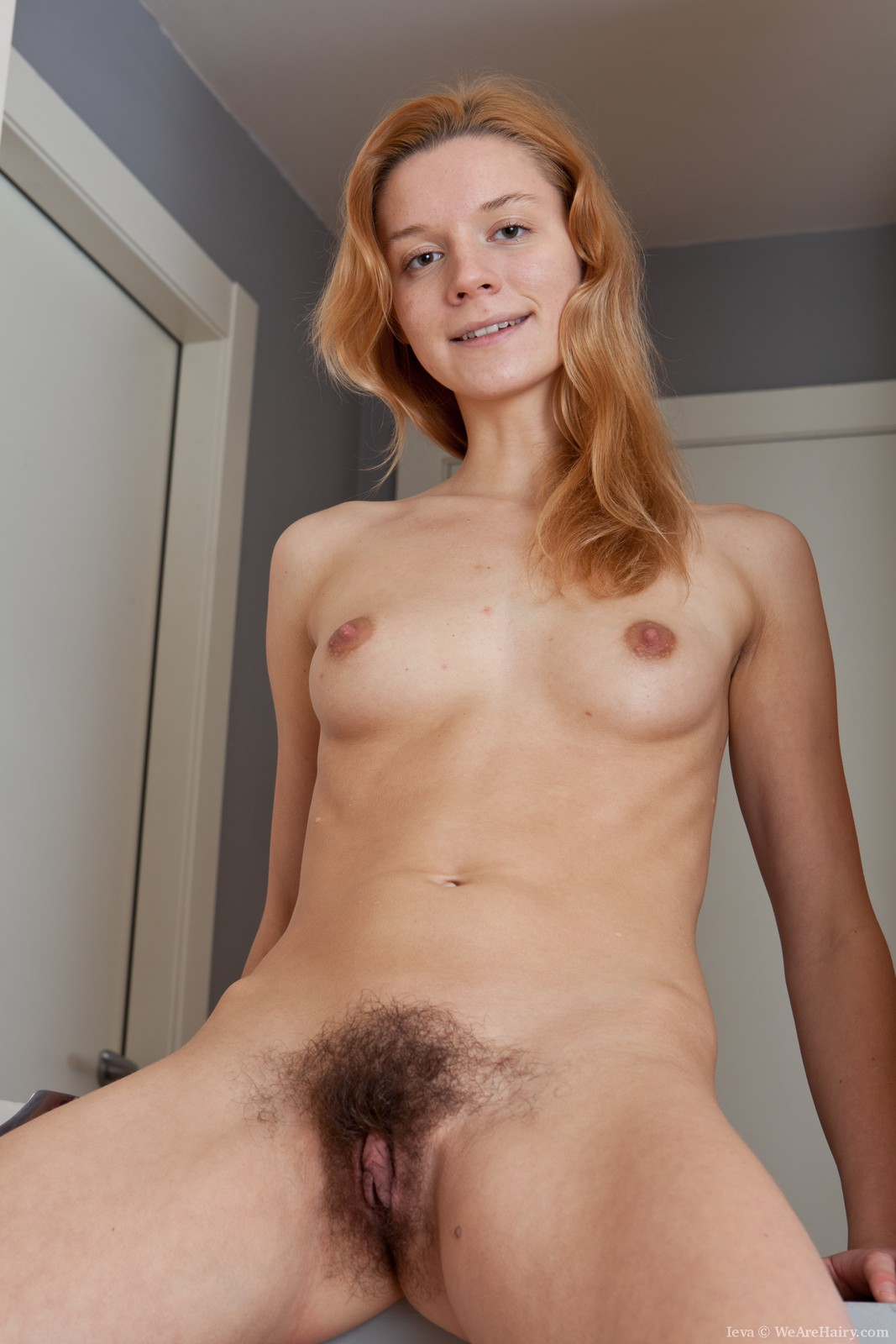 White Girl Hairy Pussy